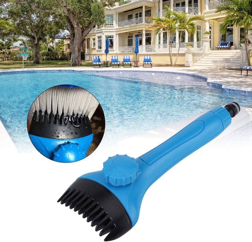 TOPINCN Mini Swimming Pool Clean Brush Filter Cleaner Handheld Swimming Pool Cleaning Accessories