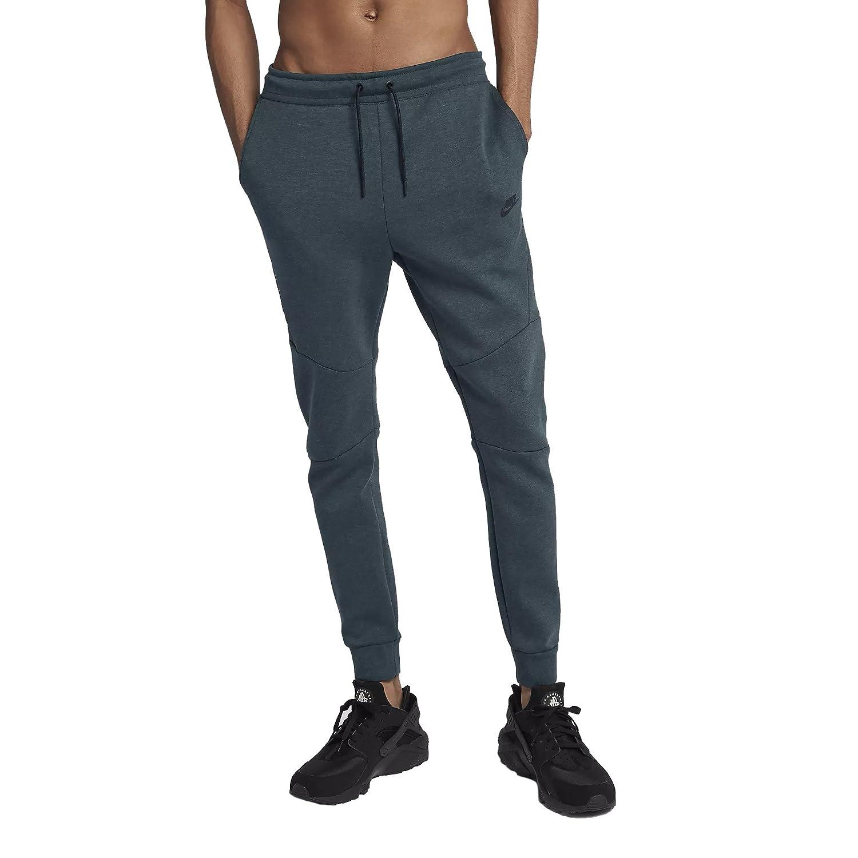 NikeメンズスポーツウェアTech Fleece Jogger Sweatpants X-Large Deep Jungle/Heather/Black B07C5BM1VD