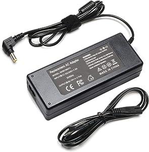 19V 4.74A 90W AC Laptop Charger for Toshiba Satellite L305 L305D L455 L505 L505D L635 L645 L655 L655D L745 L755 L775 L855 L875 C55 C655 C675 C850 C855 Asus K52 K52F K53 K53E K53TA K53U K55 K55A K55N