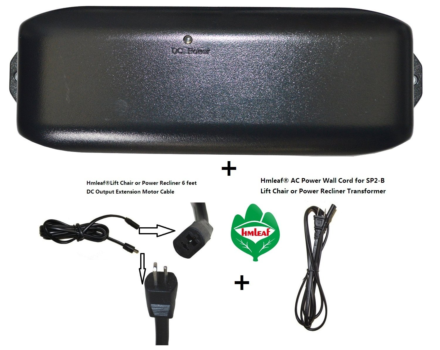 Amazon.com HmleafOkin Power Recliner SP2-B or Lift Chair Power Supply Transformer with Battery Backup+AC Power cord+Motor cable Kitchen u0026 Dining  sc 1 st  Amazon.com & Amazon.com: HmleafOkin Power Recliner SP2-B or Lift Chair Power ... islam-shia.org