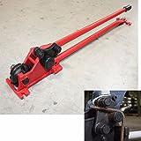 "52"" Manual 5/8"" Rebar Cutter Bender Construction Concrete Cutting & Bending Rod"
