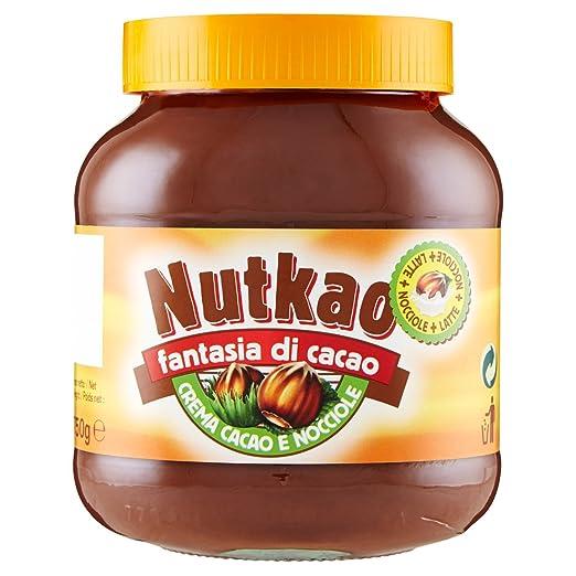 14 opinioni per Nutkao- Crema Cacao e Nocciole, Fantasia di Cacao- 3 pezzi da 750 g [2250 g]