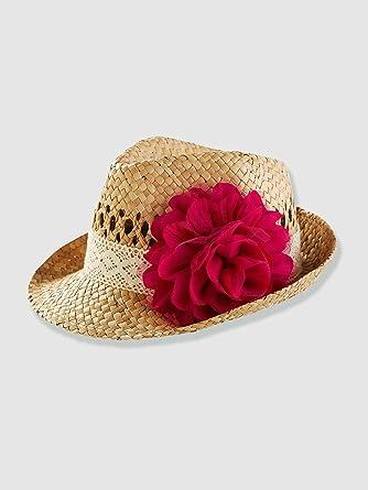 c7152f161e051 Vertbaudet - Chapeau de paille fille: Amazon.fr: Vêtements et ...