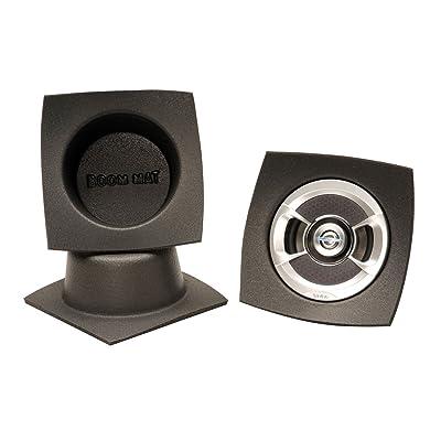 "Design Engineering 050330 Boom Mat Speaker Baffles, 6.5"" Round (Pack of 2): Automotive"