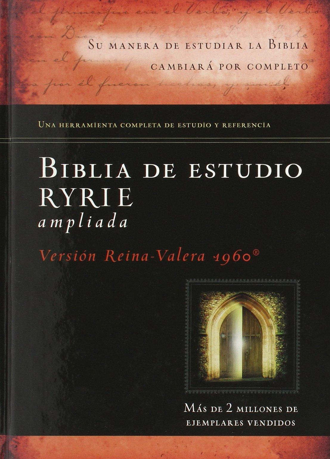 Biblia de estudio Ryrie ampliada (Spanish Edition): Charles Ryrie:  9780825418167: Amazon.com: Books