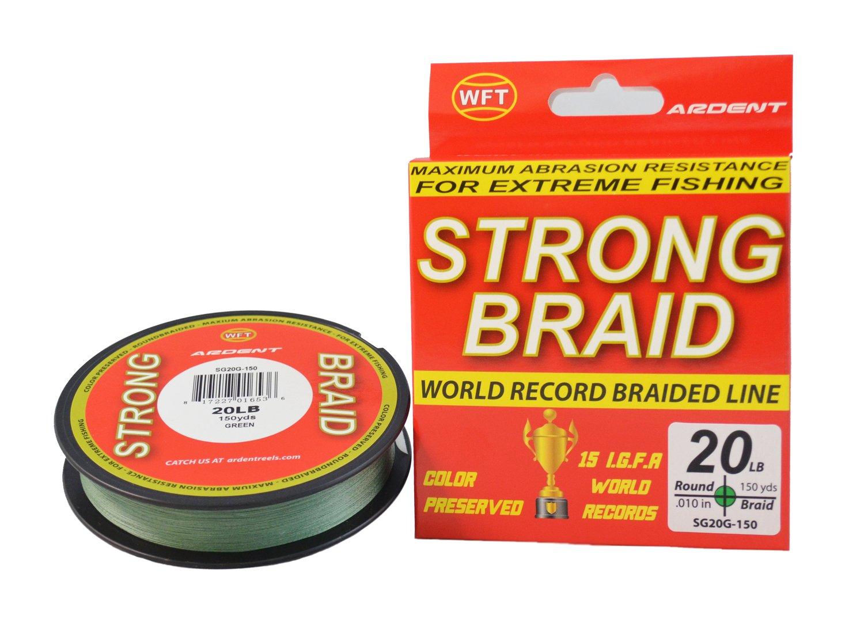 【限定セール!】 Ardent Strong 20 Braid 20 B071D6SKCM Strong #編組釣りライン、グリーン B071D6SKCM, 盛岡じゃじゃめん白龍:db4703f6 --- a0267596.xsph.ru