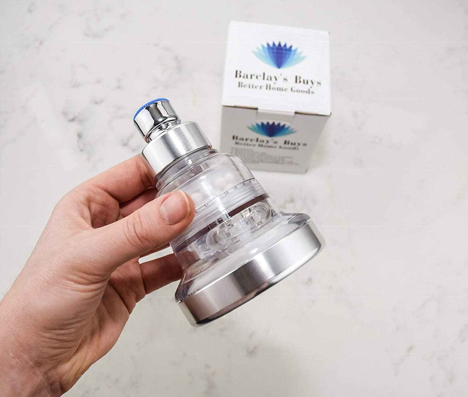 Barclay's Buys Filtered Shower Head in real