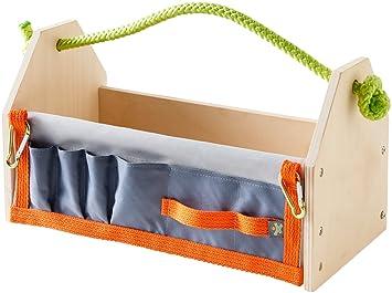 Häufig HABA 303568 - Terra Kids Werkzeugkasten-Bausatz, vielseitiger CW91
