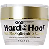 Hard As Hoof Nail Strengthening Cream with Coconut Scent Nail Strengthener, Nail Growth & Conditioning Cuticle Cream…