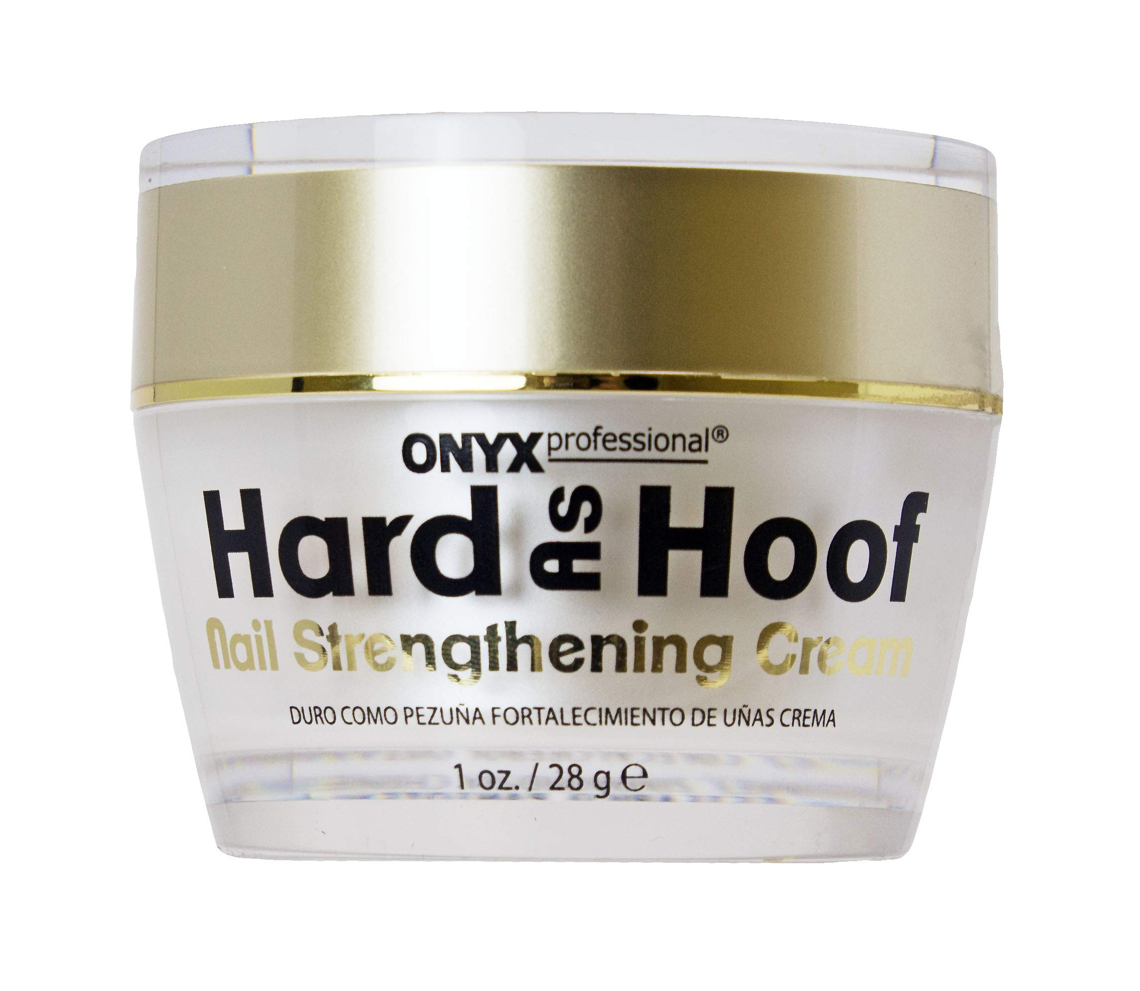 2 Pack Hard As Hoof Nail Strengthening Cream with Coconut Scent Nail Strengthener and Nail Growth Cream, 1 oz by Hoof