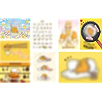 OAbear Gudetama Posters Manga Decor Live Room Bedroom Anime Canvas Wall Art Print 8 PCS 11.5x16.5 Inch