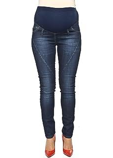 Dark Blue Torelle Skinny Maternity Jeans