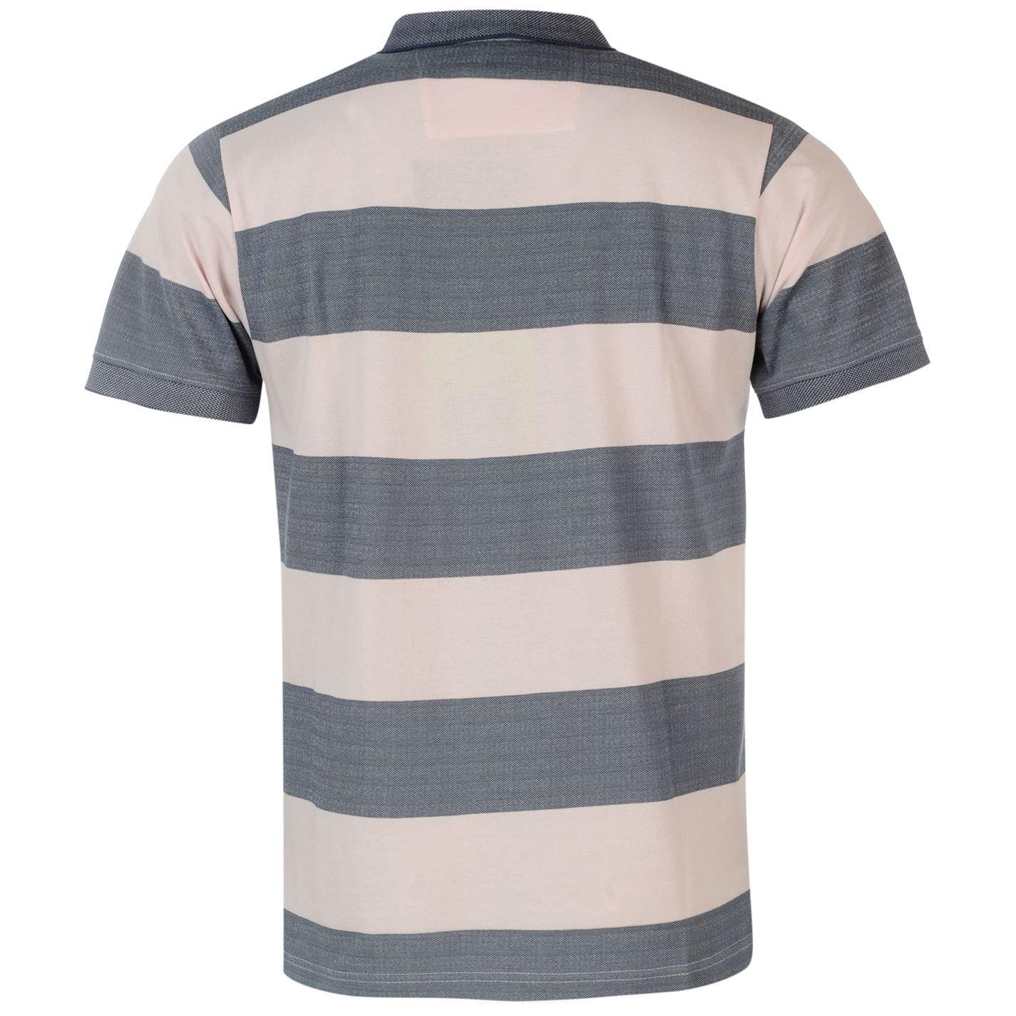 Pierre Cardin Hombre A Rayas Polo Camisa Camiseta Top Casual Manga ...