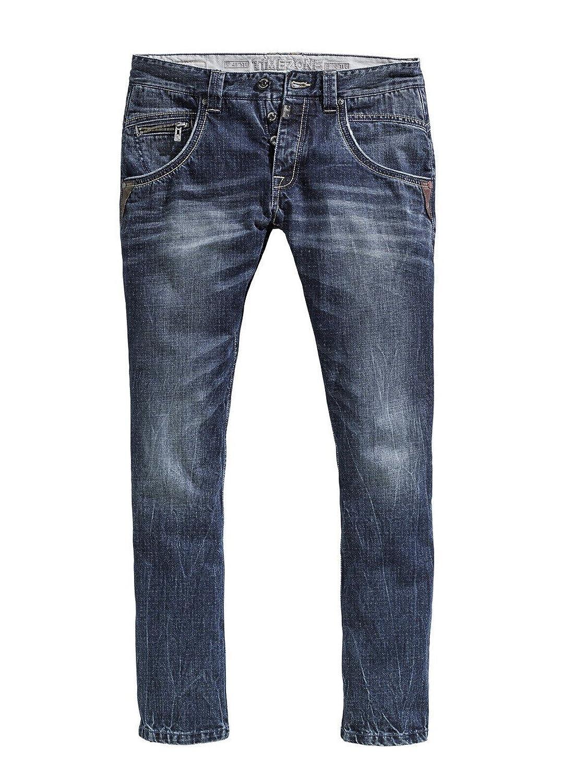 Timezone Herren Jeans HaroldTZ - Regular Fit - Blau - Urban Indigo