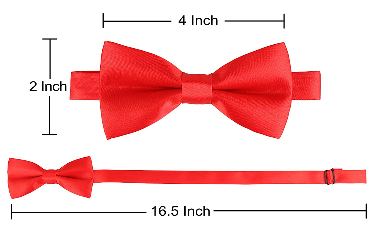 Livingston Kids Suspender Bowtie Sets Adjustable Suspender with Bow Ties