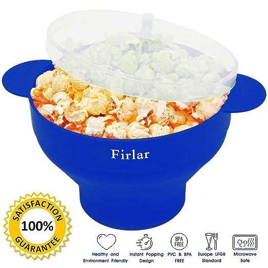 105 opinioni per Firlar microwave popcorn popper impugnature comode, silicone popcorn Maker,