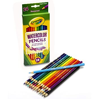 Crayola Set of 24 Watercolor Pencils