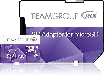 Team Colour 64GB Micro SDXC Flash Card