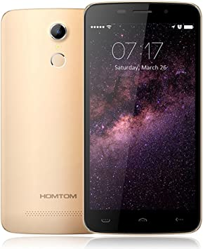 HOMTOM HT17 Smartphone 4G LTE Android 6.0 OS Quad Core MTK6737 5.5