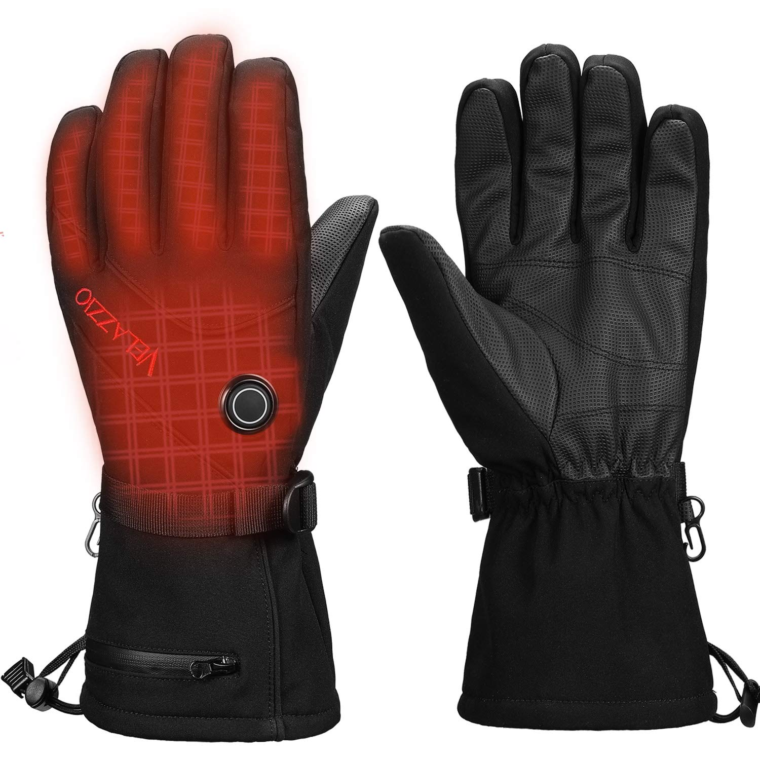 VELAZZIO Thermo1 Battery Heated Gloves - Size S by VELAZZIO