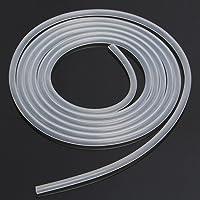 Takestop® - Tubo transparente blanco acrílico 6mm x 5m, flexible, para filtros de acuarios o lagos