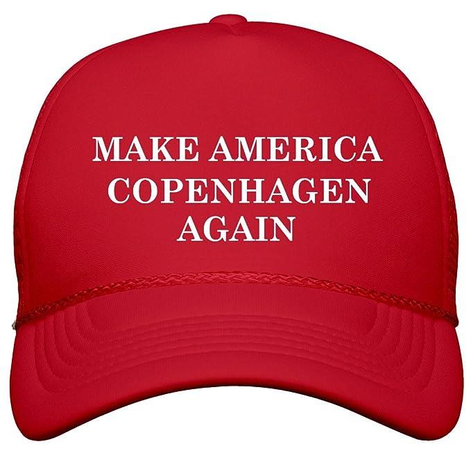 af76539f Amazon.com: FUNNYSHIRTS.ORG Make America Copenhagen Again: Snapback ...