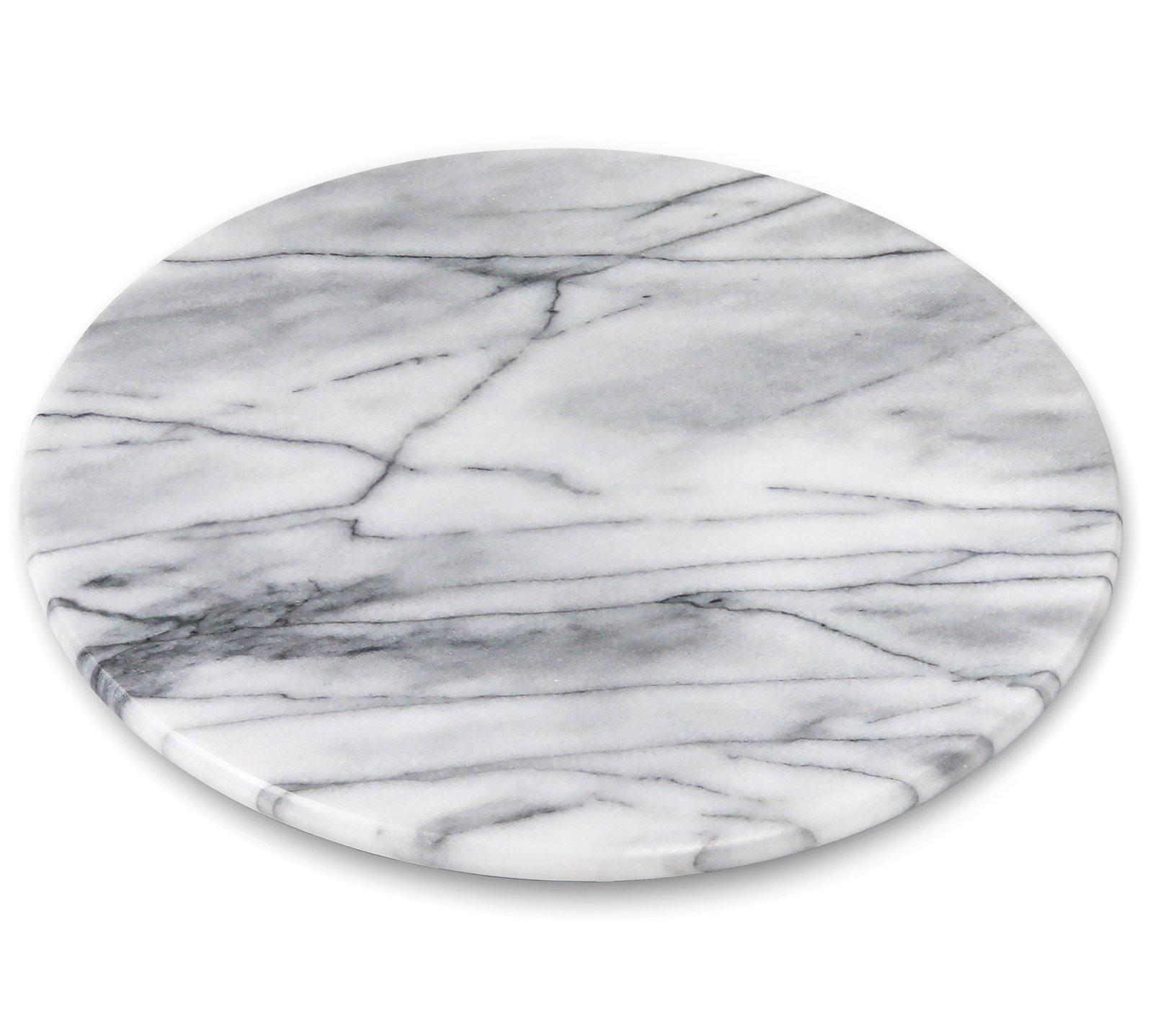 Greenco GRC0554 Marble Lazy Susan, 12'', Single
