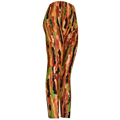 """Wildfire"" Ladies Footless Printed Leggings"