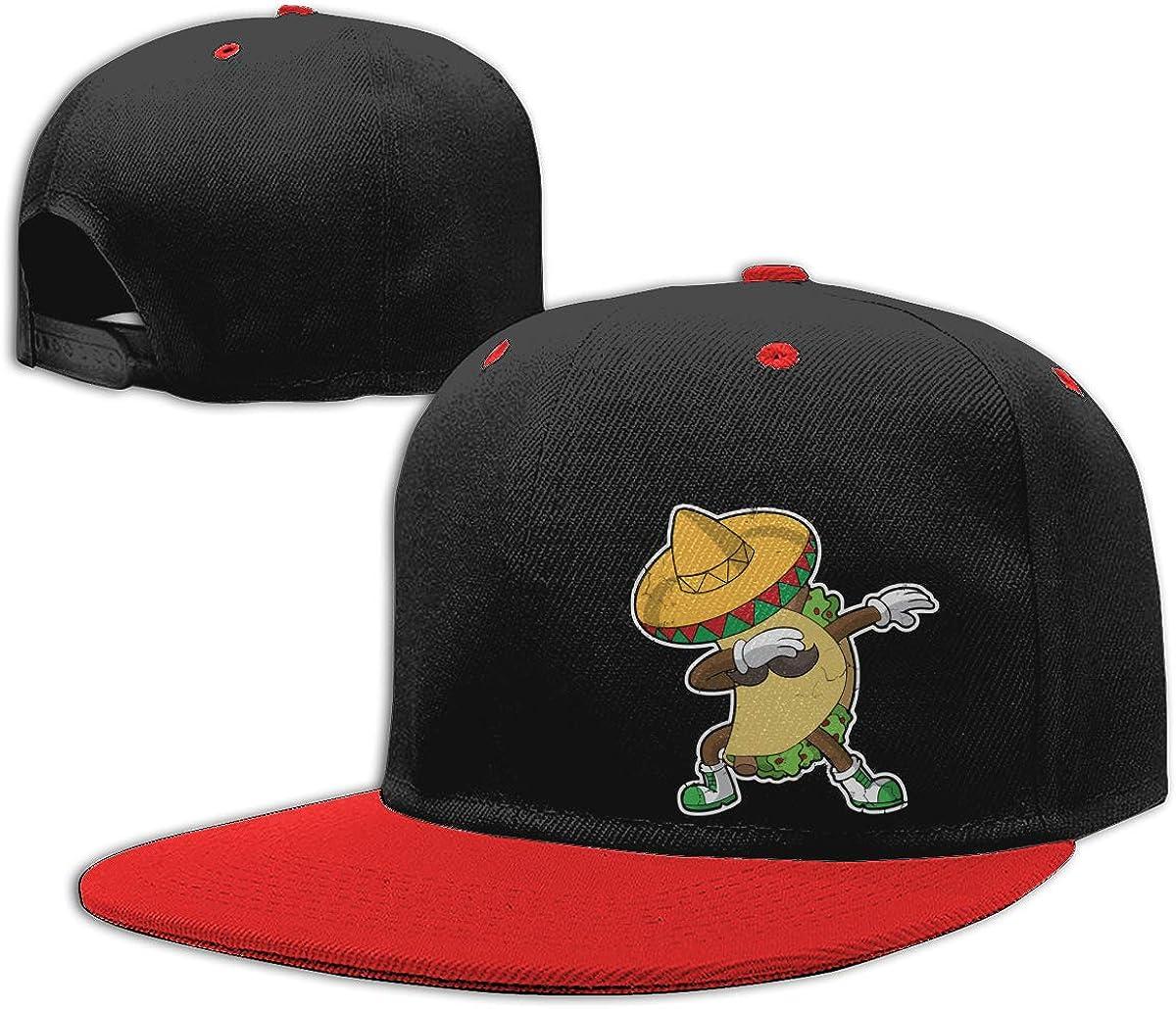 Dabbing Taco Mexico Mexican Classic Hip-Hop Baseball Caps Men Womens Dad Hat