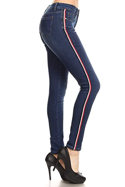 Butt Lift, Push Up, Supper Stretch Side Striped Womens ...