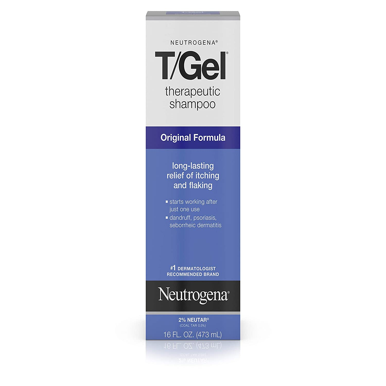 Neutrogena T/Gel Therapeutic Shampoo Original Formula, Anti-Dandruff  Treatment for Long-Lasting