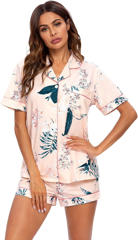 2 pezzi Set di pigiama da donna a maniche lunghe//corte MINTLIMIT