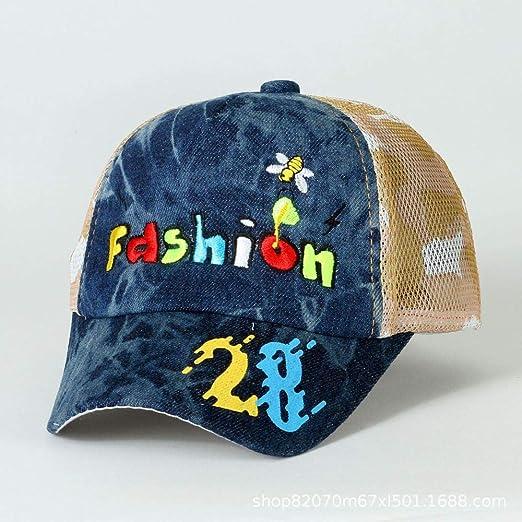 mlpnko Sombrero para niños Gorra de béisbol de Moda Bordado Letra ...