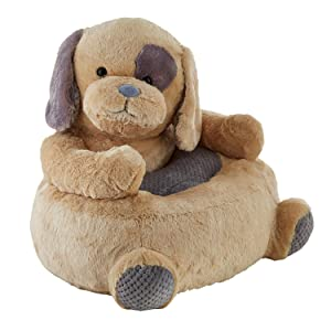 Stephan Baby Plush Nursery Decor Chair, Pete The Puppy
