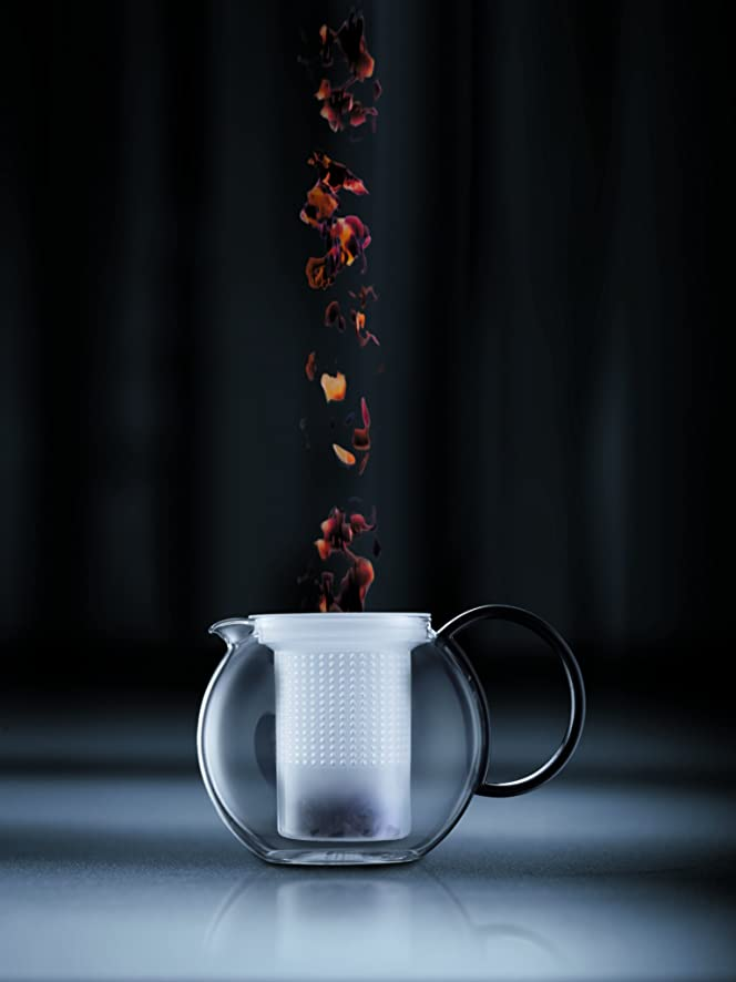 Amazon.com: Bodum Assam Medium Tea Press with Plastic Filter ...