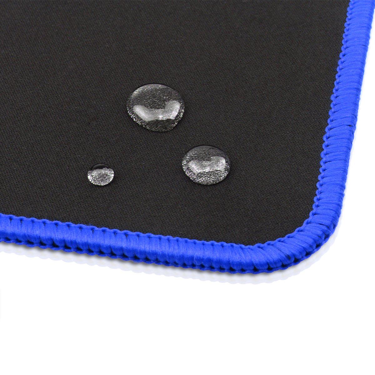 Gaming Mouse Pad, Topoint Extended Large Mouse and Keyboard Mat Soft+Waterproof+Anti Slip for Hardcore Gamer-78 * 30 cm (Blue)
