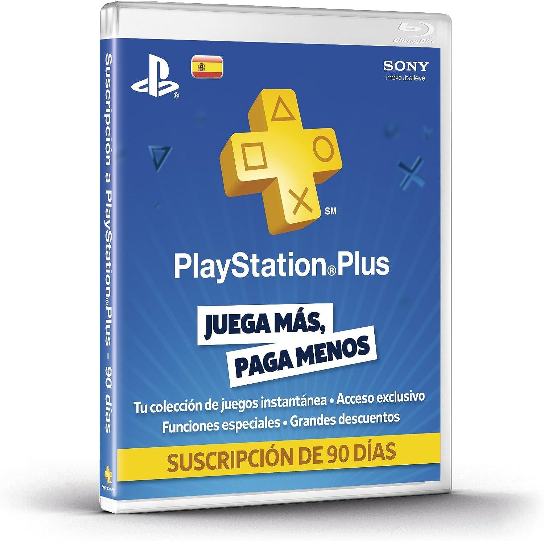 PlayStation Plus - Tarjeta De Prepago Para 90 Días: Amazon.es ...