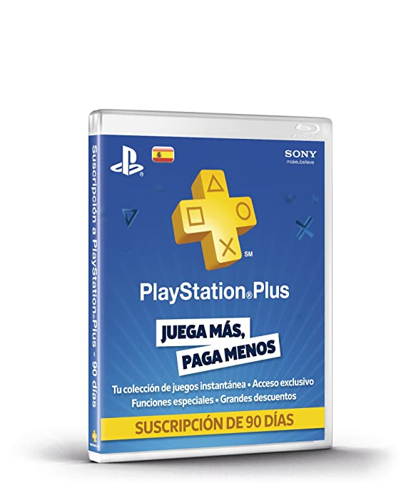 PlayStation Plus - Tarjeta De Prepago Para 90 Días: Amazon ...
