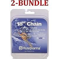 Husqvarna 531300439 18-Inch H30-72 (95VP) Pixel Saw Chain.325-Inch by .050-Inch (Black (2-Bundle))