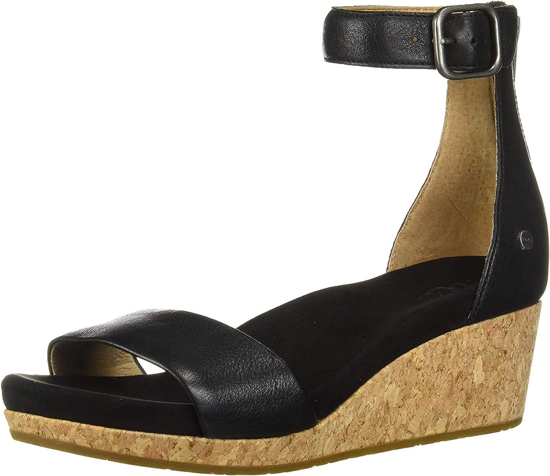 UGG Women's Zoe Ii Metallic Sandal, AD