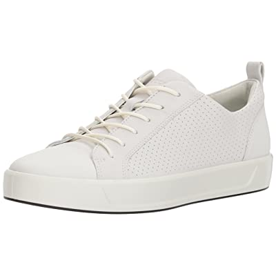 ECCO Women's Soft 8 Perforated Tie Sneaker | Fashion Sneakers
