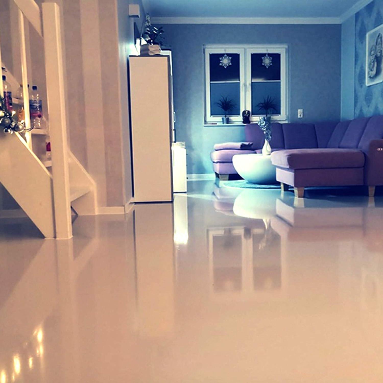 Komplett-Set Home Profis® HPBI-500 Epoxidharz Bodenbeschichtung Innen  (25m²) – inkl. Beschichtungswalze & 100g Dekochips – Epoxy Garage Werkstatt  ...