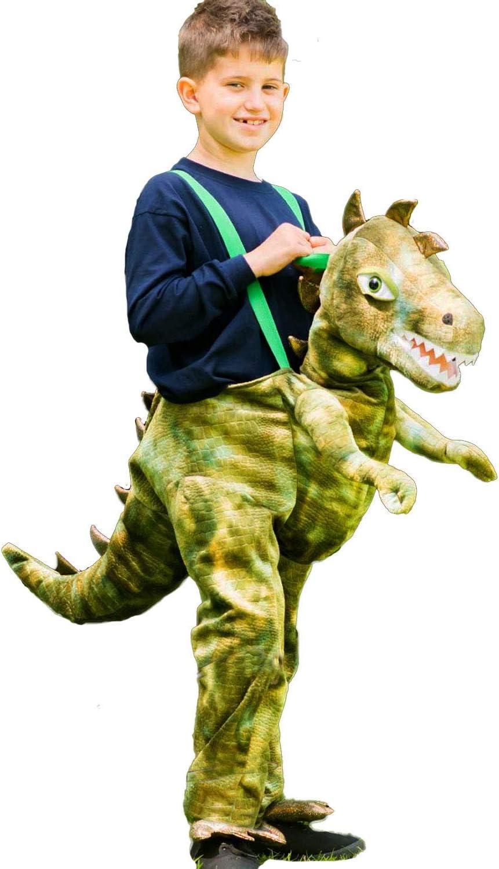 Travis designs- Disfraz infantil de dinosaurio, talla única (RDI6 ...