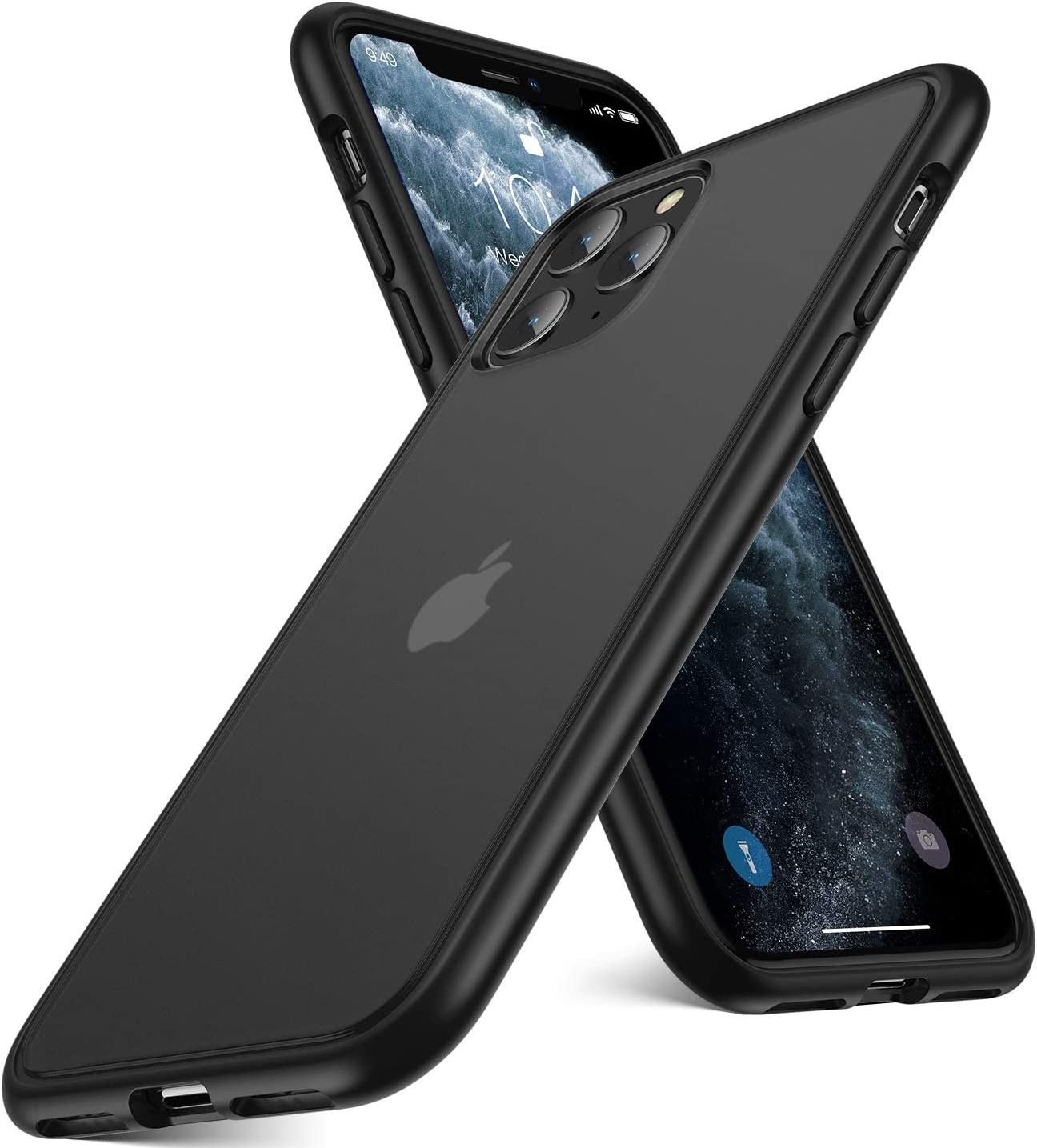 Humixx Shockproof Series iPhone 11 Pro Max Case Cover, [Military Grade Drop Tested] [2nd Generation] Translucent Matte Case with Soft Edges, Anti-Drop Protective Case for iPhone 11 Pro Max 6.5 inch