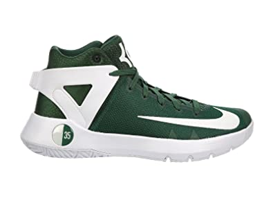 Nike Men's KD Trey 5 IV Gorge Green/White Synthetic Running Shoes 10 ...