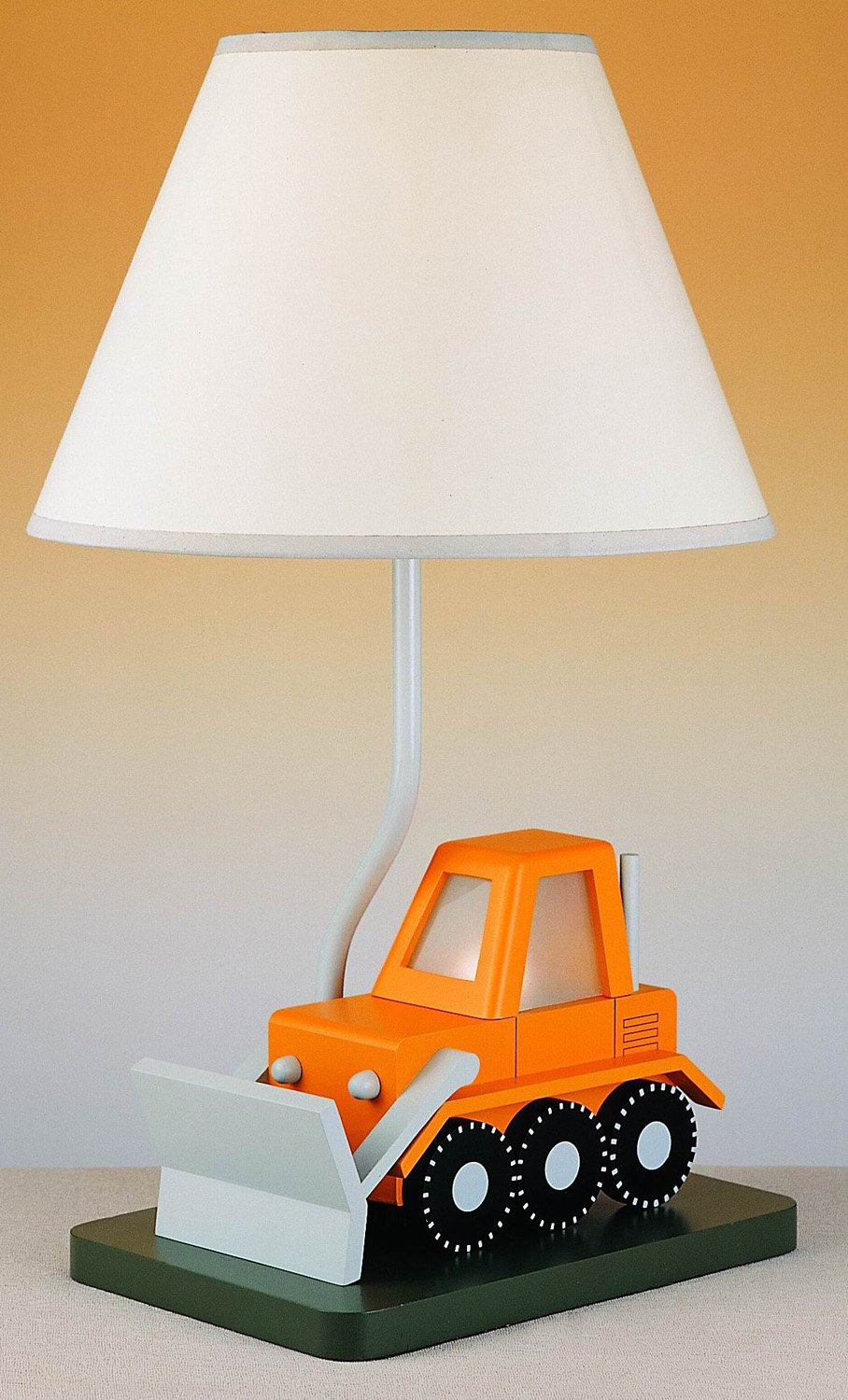 Cal Lighting BO-5667 Bull Dozer Childrens Table Lamp