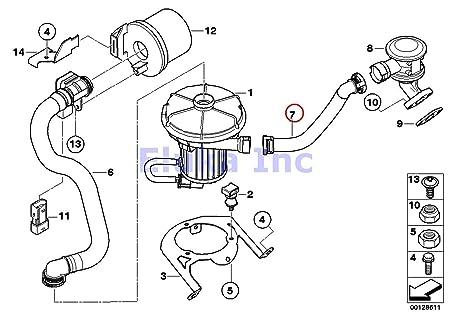 Amazon Com Bmw Genuine Secondary Air Injection Hose