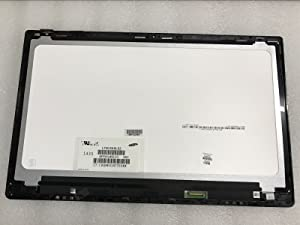 "JYLTK New Genuine 15.6"" FHD LCD Screen Display + Touch Digitizer + Bezel Frame Assembly for HP Omen 15-5120NR 15T-5100 15-5114DX 15-5210CA 15-5210NR"