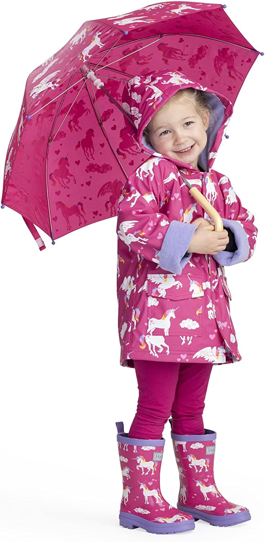 Hatley Printed Raincoats Manteau Imperm/éable Fille