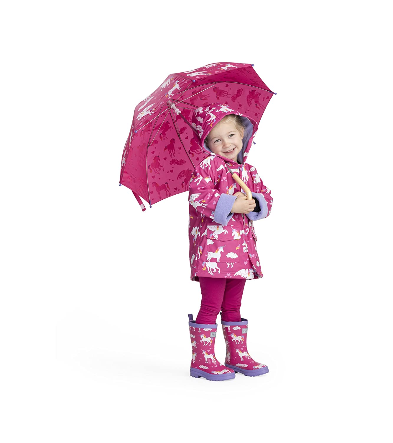 Hatley Girls Little Printed Umbrellas Galloping Horses One Size S19SHK021